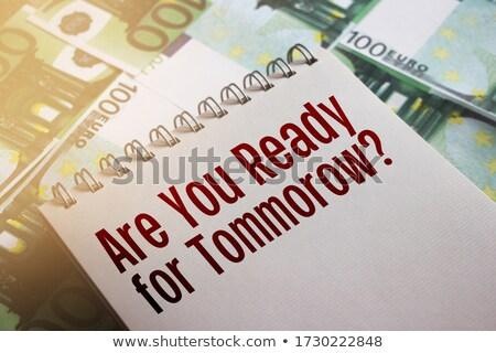 kihívás · pénzügyi · Euro · jegyzetek · üzlet · támogatás - stock fotó © Ansonstock