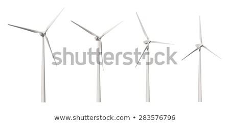 風力タービン パス 自然 ストックフォト © REDPIXEL