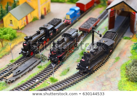 model railway stock photo © prill