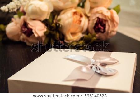 Woman with casket of jewelry Stock photo © zastavkin