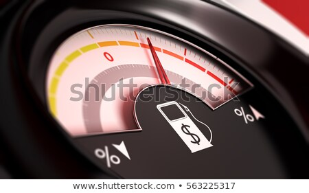 Stock photo: Gasoline price rise