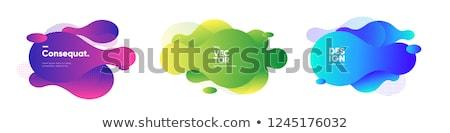 Foto stock: Vetor · abstrato · círculo · colorido · lugar