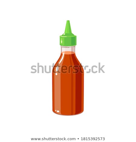 Stok fotoğraf: Red Hot Chilli Sauce