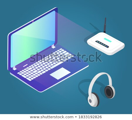Big Set Of Contemporary Gadgets Stock photo © adamson