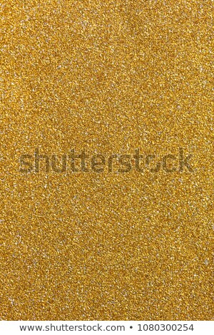 or · glitter · texture · bord · photographie · cadre - photo stock © latent