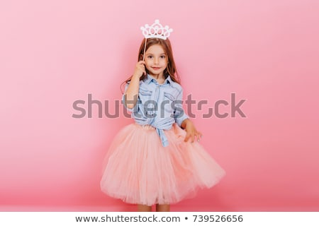 Stock photo: Little girl birthday