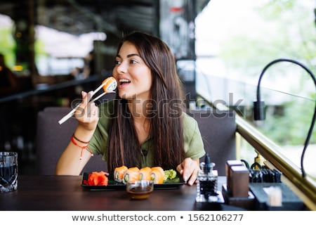 Stock photo: Nouveau sushi...