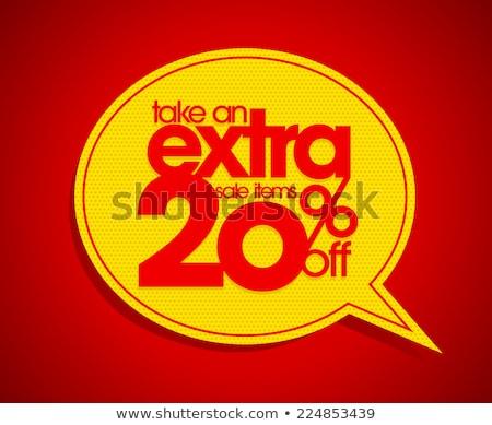 Take 20% Off Coupon Stock photo © kbuntu