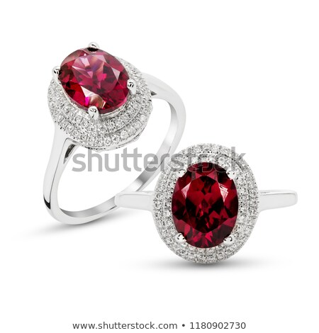 antique garnets jewelry  stock photo © Sarkao
