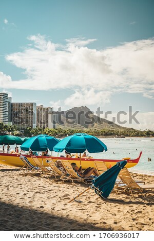 Waikiki beachfront Stock photo © photohome