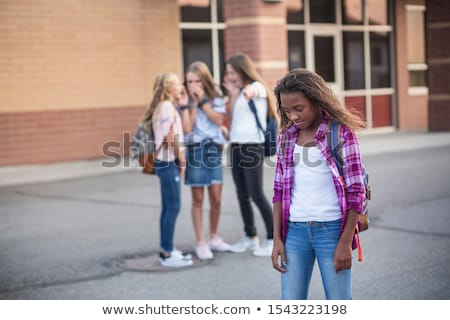 Kız okul çocuklar öğrenci arkadaşlar Stok fotoğraf © photography33