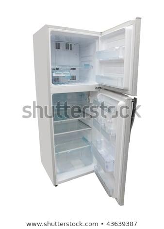 冷凍庫 · 孤立した · 白 · キッチン · クール · 電気 - ストックフォト © ozaiachin