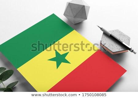 メール セネガル 画像 スタンプ 地図 フラグ ストックフォト © perysty