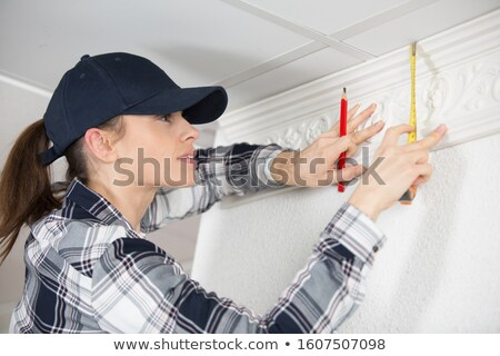 Decorator with cornice Stock photo © photography33