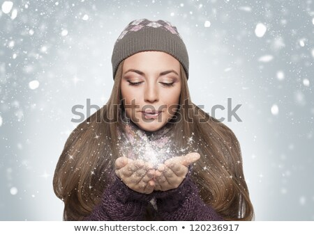 blowing stardust Stock photo © carlodapino