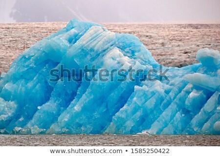 mavi · okyanus · deniz · kar · soğuk - stok fotoğraf © timwege