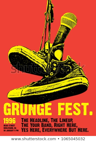 Grunge music stock photo © kjpargeter