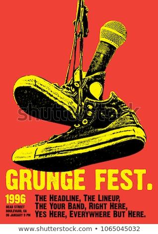 Grunge music stock photo © kjpargeter