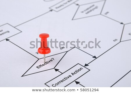 Questions Flow Chart Stock photo © ivelin