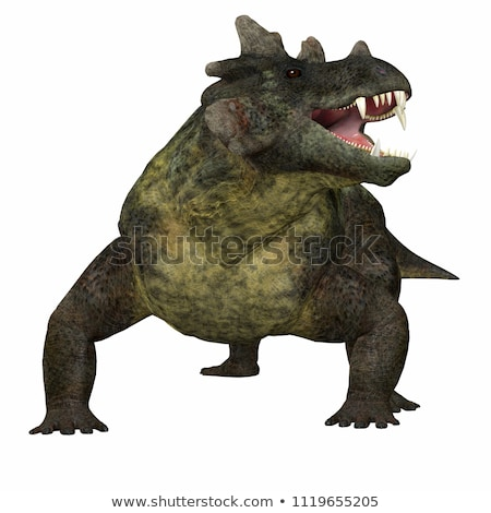Estemmenosuchus Dinosaur stock photo © AlienCat