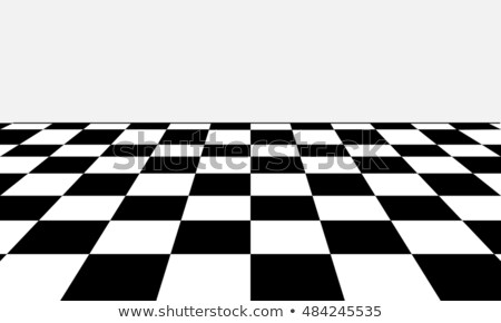 Checkered Background In Perspective Stock photo © Lightsource