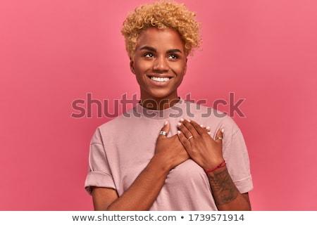 Stockfoto: Aanbiddelijk · vriendinnen · poseren · muur · sexy · benen