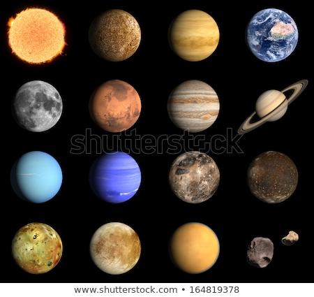 планеты 3d визуализации Вселенной один четыре Nice Сток-фото © Elenarts
