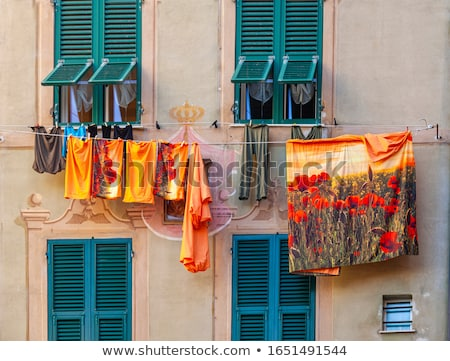 ancient street in Camogli Stock photo © Antonio-S