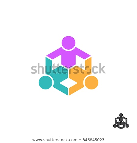3 kids holding hands Stock photo © mintymilk