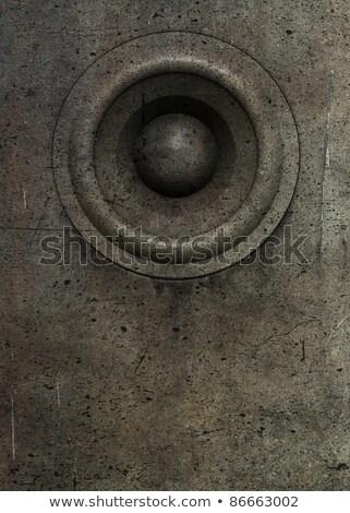 старые оратора звук Гранж Deejay вечеринка Сток-фото © Melvin07