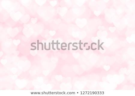 Foto stock: Belo · abstrato · cor · coração · ilustração