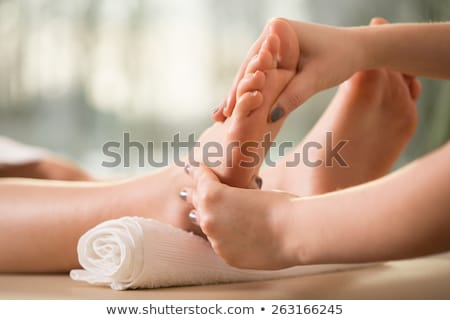 reflexology foot massage stock photo © photosoup