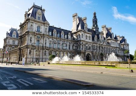 ホテル パリ 市 ホール 夏 ストックフォト © aladin66