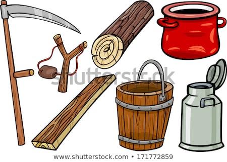 Clip Art Karikatur Illustration Design Spielzeug Tool Stock foto © izakowski