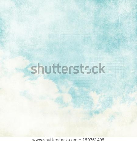 Agua color como nube papel viejo textura Foto stock © oly5