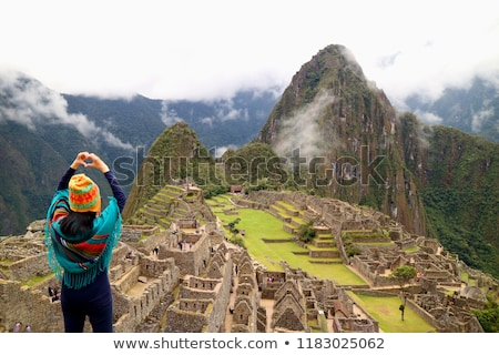 Seven Wonders of the World in Heart Stock photo © glorcza