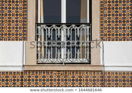 ornamental old typical tiles stock photo © homydesign