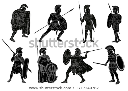 Classic Rome Warrior. Stock photo © araga