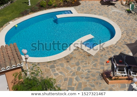 Havuz inşaat başvurmak güvenlik mimari beton Stok fotoğraf © chrisbradshaw