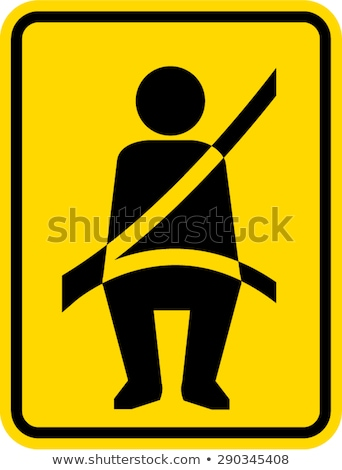 Fasten seat belt notice Stock photo © bigandt