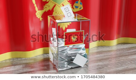 Ballot box Montenegro Stock photo © Ustofre9