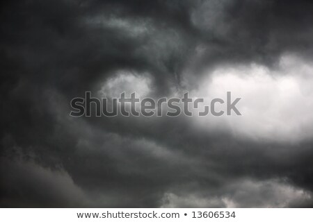 Storm cloud rotation, the beginning of a tornado Stock photo © soupstock