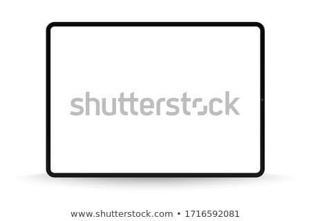 Detallado sensible tableta vector ordenador Foto stock © MPFphotography