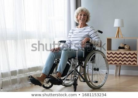 handicap · podpisania · upośledzony · wózek · dostęp · logo - zdjęcia stock © lightsource