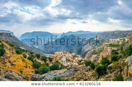 Oman garden Saiq Plateau Stock photo © w20er