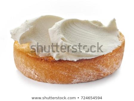 peynir · krem · diyet - stok fotoğraf © m-studio