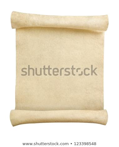 Blank Antique Scroll Stock photo © RudyardMace
