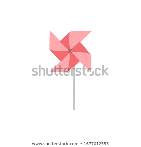 Windmill toy vector graphic Stock photo © ElaK