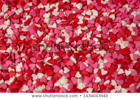 Heart Shaped Candy over different color background stock photo © BibiDesign