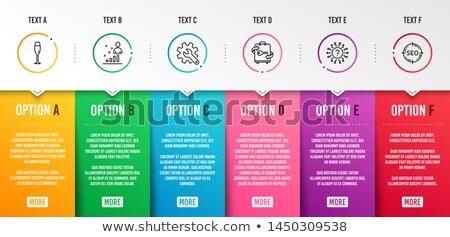 Six Key Questions Stock photo © 3mc